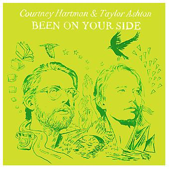 Courtney Hartman & Taylor Ashton - Been on Your Side [CD] USA import