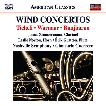Warnaar / Zimmerman / Norton - Wind Concertos [CD] USA import