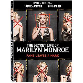 秘密のマリリン ・ モンローの人生 [DVD] 米国のインポートします。