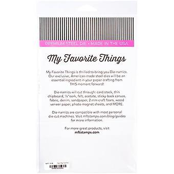 Mis cosas favoritas Bolsa de papel Caja de trato Die-Namics