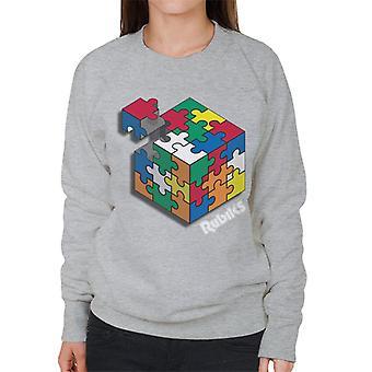 Rubiks hashtag Playtime kvinnors Sweatshirt