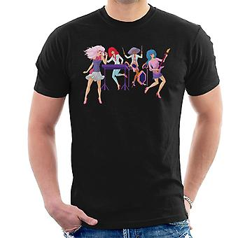 Jem And The Holograms Singing Men's T-Shirt