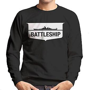 Hasbro Battleship Silhouette Logo Men's Sweatshirt
