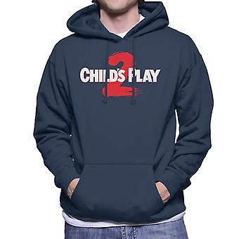 Chucky Childs Play 2 Logo Men's Hooded Sweatshirt