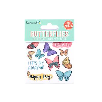 Dovecraft Butterflies Sticker Book