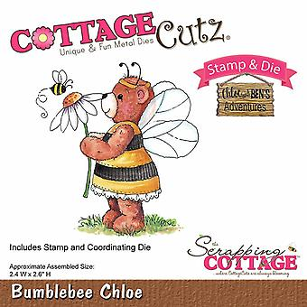 Scrapping CottageCutz Bumblebee Chloé