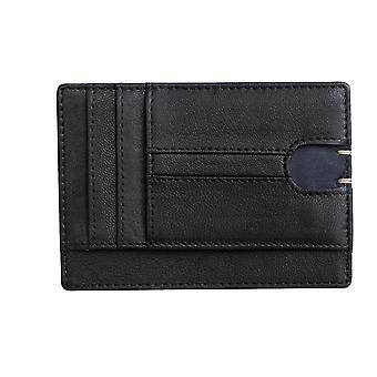 Primehide Mens Slim Leather Card Wallet RFID Blocage Gents Card Holder 4803