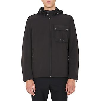 Belstaff 71020852c50n060590000 Men's Black Polyester Outerwear Jacket