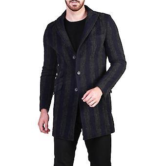 Made in italia amerigo men's central rear slit coat