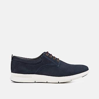 Morrison navy casual derby shoe
