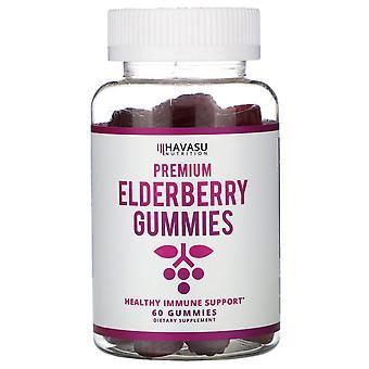 Havasu Nutrition, Premium Elderberry Gummies, 60 Gummies
