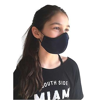 Blue Washable Face Mask In Fabric , For Children / Adults