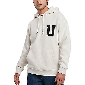 Clássicos Urbanos - Oversized Terry Patch Hoody Light Grey