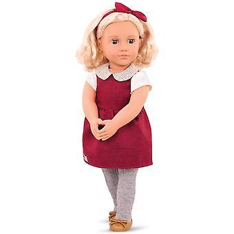 Notre génération 70.31237Z Doll w/Sparkly Collar 18 pouces / 46 cm Doll