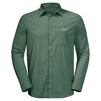 Jack Wolfskin Män 2020 Långärmad Fukt Wicking UV Shield S Färsk skjorta