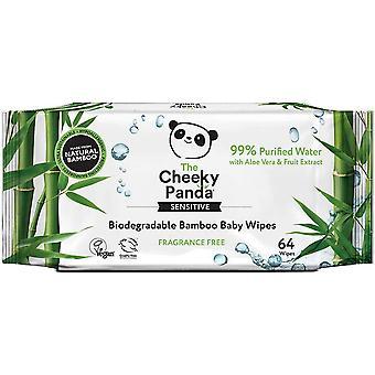 Cheeky Panda Bamboo Biodegradable Baby Wipes