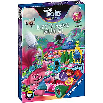Ravensburger Trolls 2 World Tour: Let's Save Music! Game