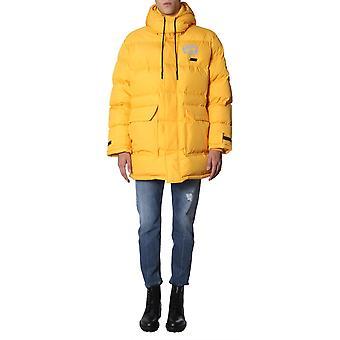 Mcq Door Alexander Mcqueen 547386rnq207047 Men's Yellow Nylon Down Jacket