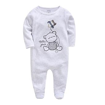Newborn Baby Pijamale Full Sleeve Halat de baie Sleepers, / Îmbrăcăminte Sleep Wear