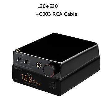 Topping E30 Dac Decoder Ak4493 Xu208 32bit/768k Dsd512 Touch Operation With