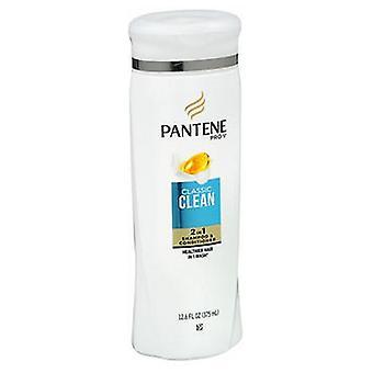 Pantene Pro-V Classic Clean 2 in 1 Shampoo & Conditioner, Classic Care 12.6 Oz
