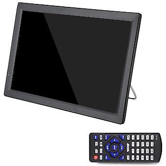 Hd portátil D14 de 14 pulgadas Dvb-t2 Atsc Digital Analog Audio Television, Mini Small