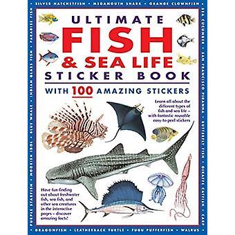 Ultimate Fish  Sea Life Sticker Book by Armadillo Books