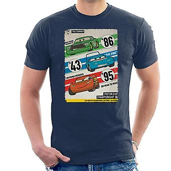 Pixar Bilar Piston Cup Championship '06 Herrar's T-Shirt