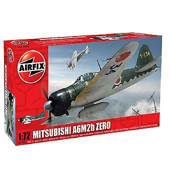 Airfix A01005 Mitsubishi Zero A6M2b 1:72 Mierka Model Kit