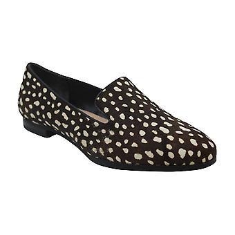 Alfani Womens Oceanaa Calf Hair Almond Toe Loafers