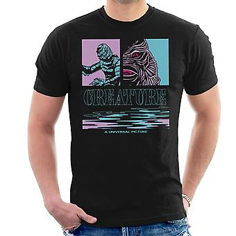 The Creature From The Black Lagoon Illustration Men's T-Shirt