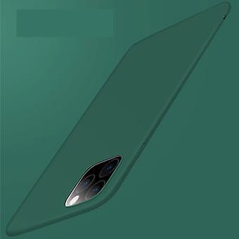 USLION iPhone 12 Pro Max Ultra Thin Case - Kova mattakotelon kansi vihreä