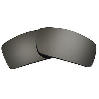 Replacement Lenses for Oakley Gascan Sunglasses Anti-Scratch Silver Mirror