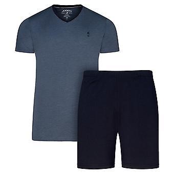 Jockey 1/2 stricken Pyjama Geschenk-Set - Marine