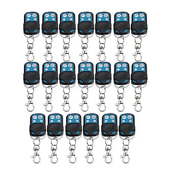 20PCS 4CH433MHz RF Wireless Remote Control Learning Code 1527 Chip Garage Door
