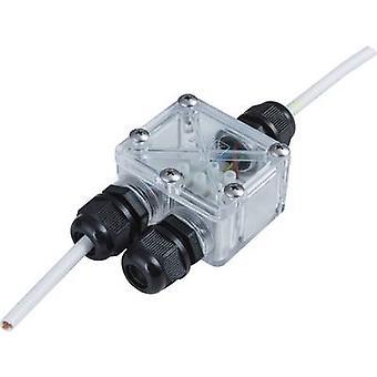 Heitronic 21041 2-way splitter 230 V 4 cm Transparent