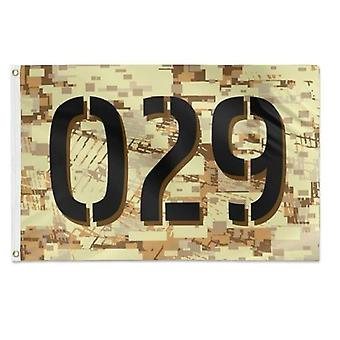 Block Desert Camouflage Flag 3x5 Feet