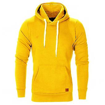 Autumn/winter Warm Knitted Sweater Casual Hooded Pullover Men Sweater Coat