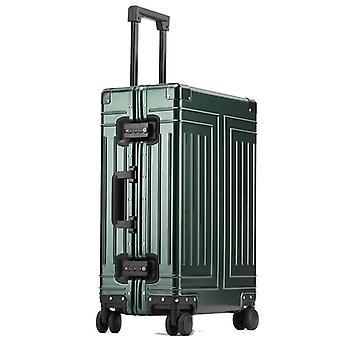 Valigia trolley in alluminio