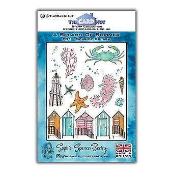 The Card Hut Seaside Splash Clear Stamps