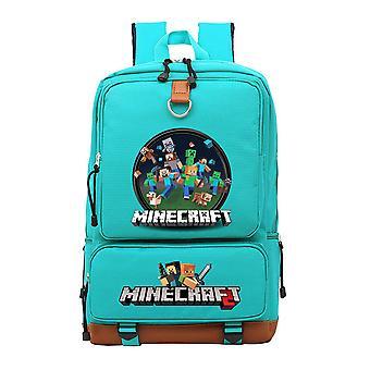 Minecraft youth school waterproof Backpack
