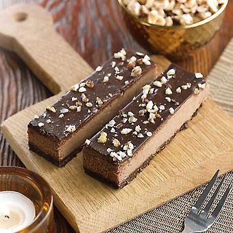 Mademoiselle Frozen Vegan Chocolate & Hazelnut Cheesecake