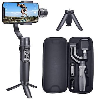 Hohem smartphone gimbal 3-axis handheld stabilizer for iphone 11 pro max, for android smartphones, s
