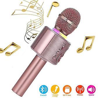 Langaton karaokekone juhlalauluun,karaoke-mikrofonit lapsille, jotka ovat yhteensopivia android anin kanssa