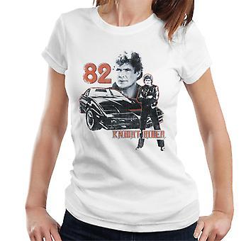 Knight Rider 82 Montage Camiseta para Mujer's