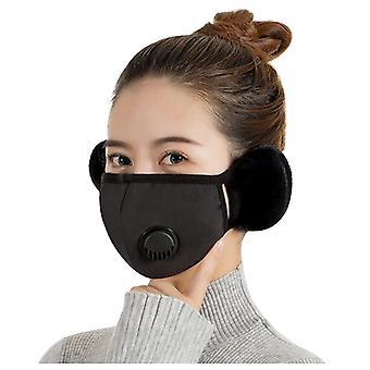 Winter Warm Earmuffs, Women Headphones Two-in-one, Face Ear Cover Accessories