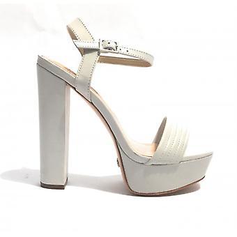 Shoes Women's Schutz Sandal tc 13 Pl 4 Skin White Color Ds17sc06