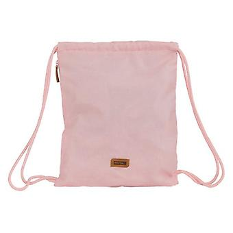 Backpack with strings safta pink