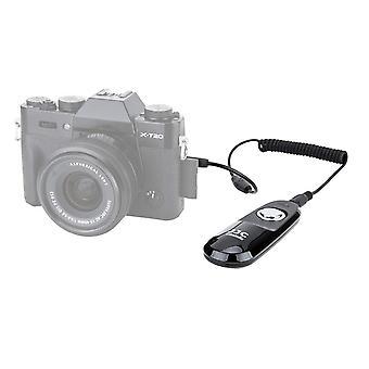 Version à distance du câble d'obturateur Jjc pour fujifilm x-t3/ x-t2/ x-t1/ x-h1/ x-t30/ x-t20/ x-t100/ wof50889