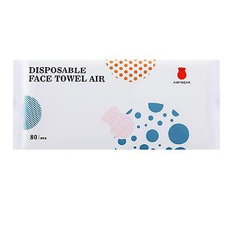 Serviette nettoyante jetable en coton, serviette humide et sèche non tissée, enlever le maquillage et nettoyer